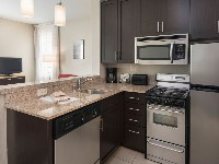 TownePlace Suites Vista/Carlsbad Two Bedroom Suite Kitchen