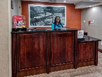 Hampton Inn Orlando Maingate South Hotel Front Desk